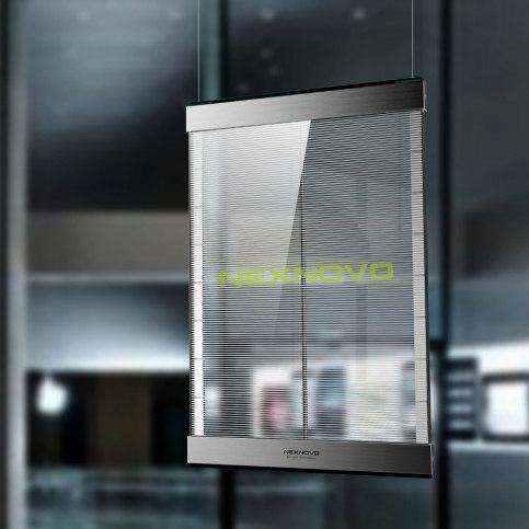 pantalla de led transparente de tamaño estandar ideal para cualquier escaparate. De fácil montaje y a un recio muy económico.