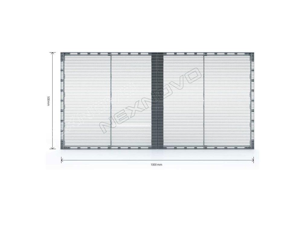 Modulo XRW Nexnovo LED Transparente