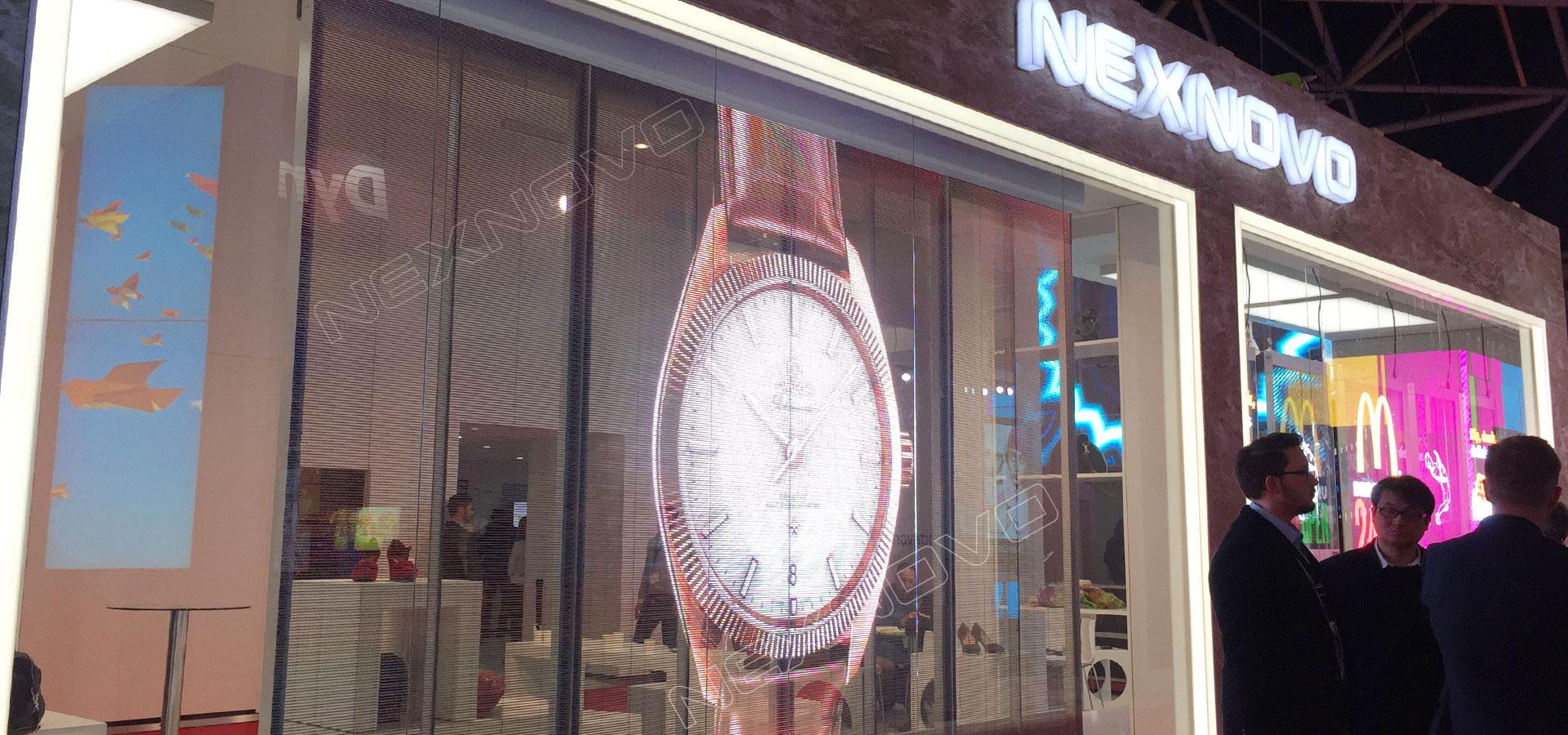 Stand NEXNOVO Serie NS LED Transparente