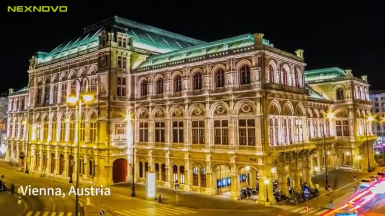 Viena Pantalla LED Transparente doble NEXNOVO