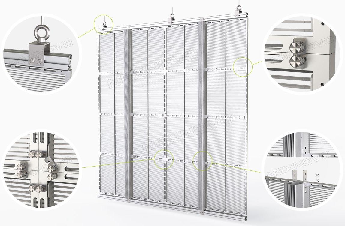 Instalacion XRW LED Transparente NEXNOVO