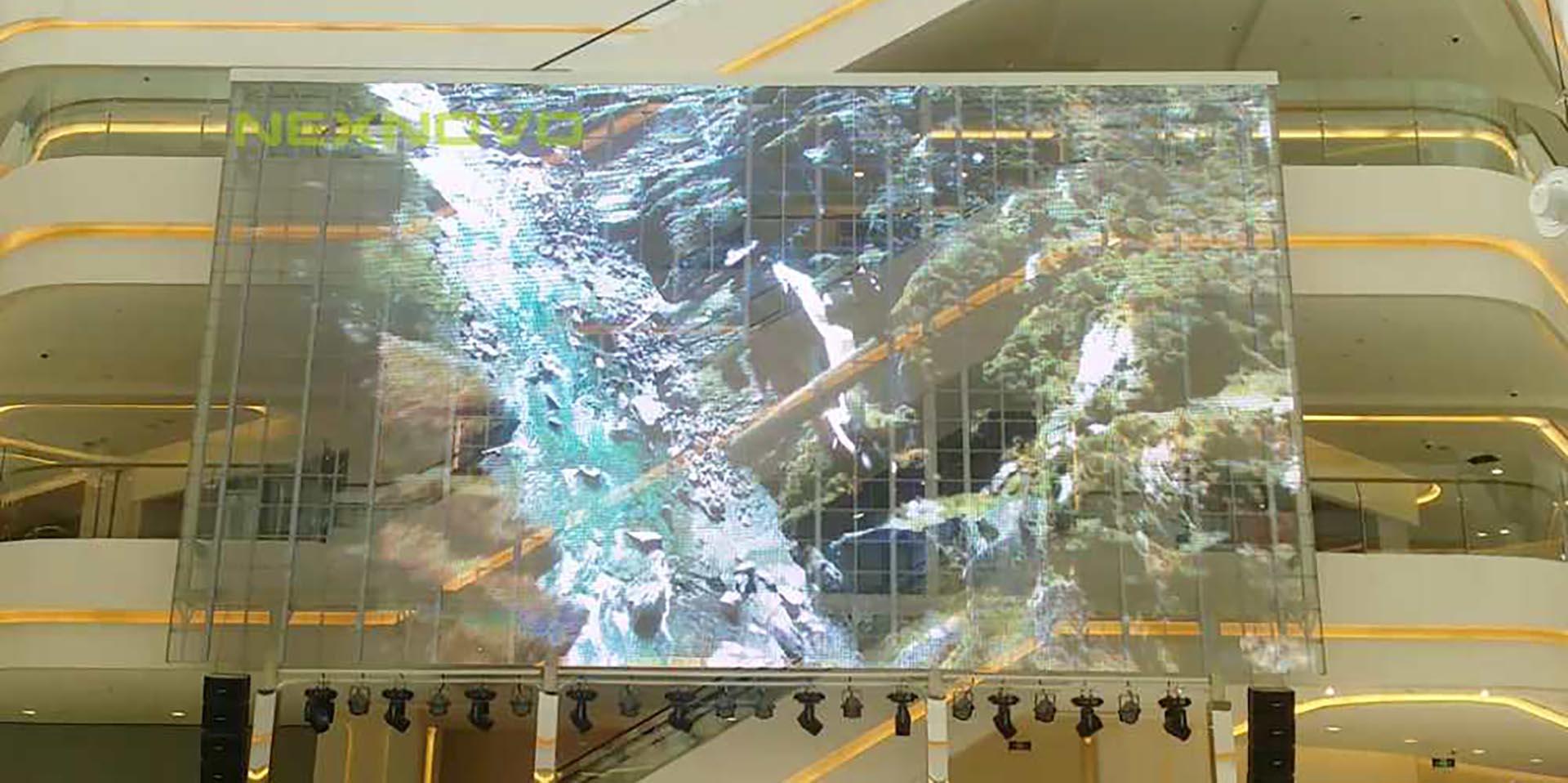 Serie XRW LED Transparente NEXNOVO Mall