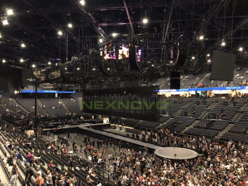 Concierto U2_LED TRansparente